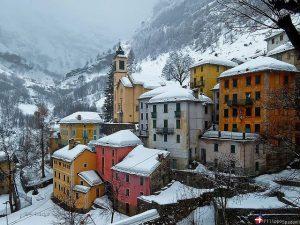Campello Monti in inverno - Filippo Spadoni