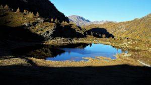 Hopschusee (lago di Hopsche) posto a breve distanza dall'Ospizio del Sempione Fabio Casalini