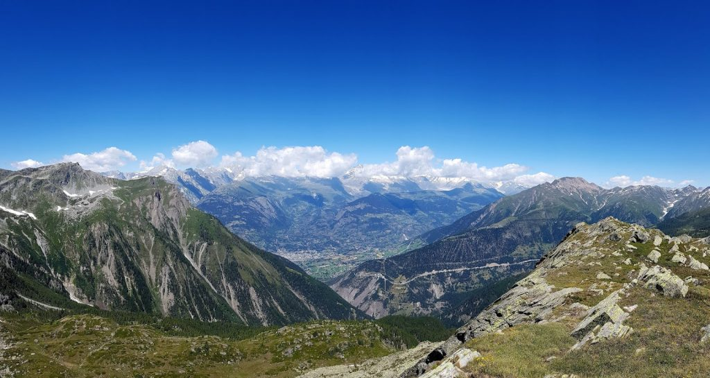 Panorama dalla vetta dello Staldhorn