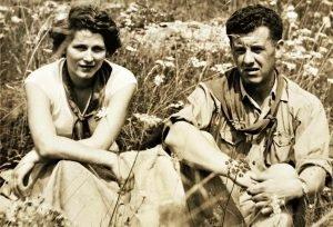 Tina Merlin e Aldo Sirena